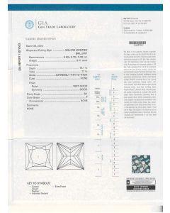 2.01 Ct. GIA Certified FSI1 Princess Cut Diamond.