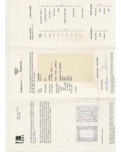 2.01 Ct. HRD Certified ISI2 Baguette Cut Diamond.