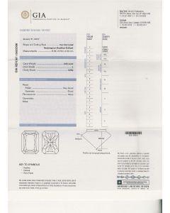 2.02 Ct. GIA Certified LVVS2 Radiant Cut Diamond.