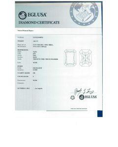1.01 Ct. EGL Certified FSI2 Radiant Cut Diamond.