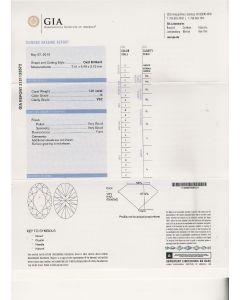 1.01 Ct. GIA Certified KVS2 Oval Shape Diamond.