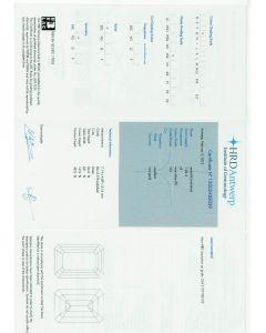1.02 Ct. HRD Certified GVS2 Emerald Cut Diamond.