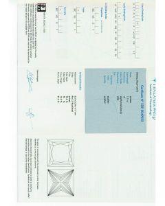1.11 Ct. GIA Certified JVVS2 Princess Cut Diamond.