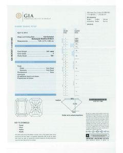 2.01 Ct. GIA Certified FVS1 Radiant Cut Diamond.