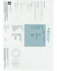 3.42 Ct. HRD Certified JSI2 Round Brilliant Cut Diamond.