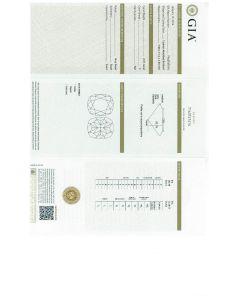 2.01 Ct. GIA Certified FSI2 Cushion  Cut Diamond.