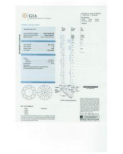 3.01 Ct. GIA Certified EVS2 Round Brilliant Cut Diamond.