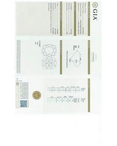 1.10 Ct. GIA Certified HVS2 Cushion Cut Diamond.