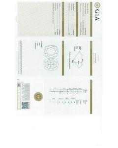 1.08 Ct. GIA Certified EVS2 Cushion Cut Diamond.