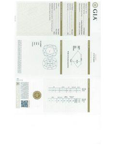 1.04 Ct. GIA Certified JSI2 Cushion Cut Diamond.