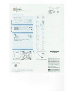 1.01 Ct. GIA Certified FSI2 Princess Cut Diamond.