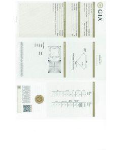 1.01 Ct GIA Certified DSI2 Princess Cut Diamond.