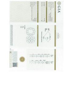 1.01 Ct. GIA Certified DVS2 Cushion Cut Diamond.
