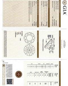 1.50 Ct. GIA Certified DVS1 Round Brilliant Cut Diamond.