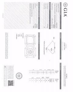 1.72 Ct. GIA Certified FSI1 Radiant Cut Diamond.