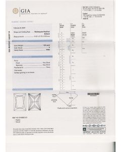 1.00 Ct. GIA Certified H VVS2 Princess Cut Diamond.