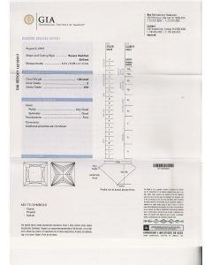 1.00 Ct. GIA Certified D VS2 Princess Cut Diamond.