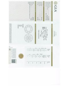 3.00 Ct. GIA Certified F VS2 Round Brilliant Cut Diamond.