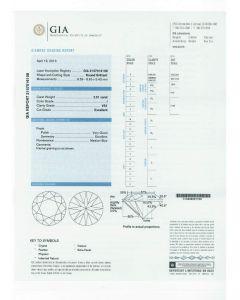 2.51 Ct. GIA Certified I VS1 Round Brilliant Cut Diamond.