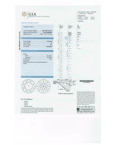1.73 Ct. GIA Certified E SI1 Round Brilliant Cut Diamond.
